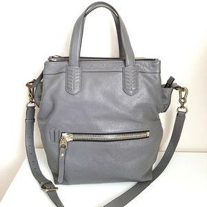 orYANY Leather Convertible ZipTop LYNN Satchel Bag